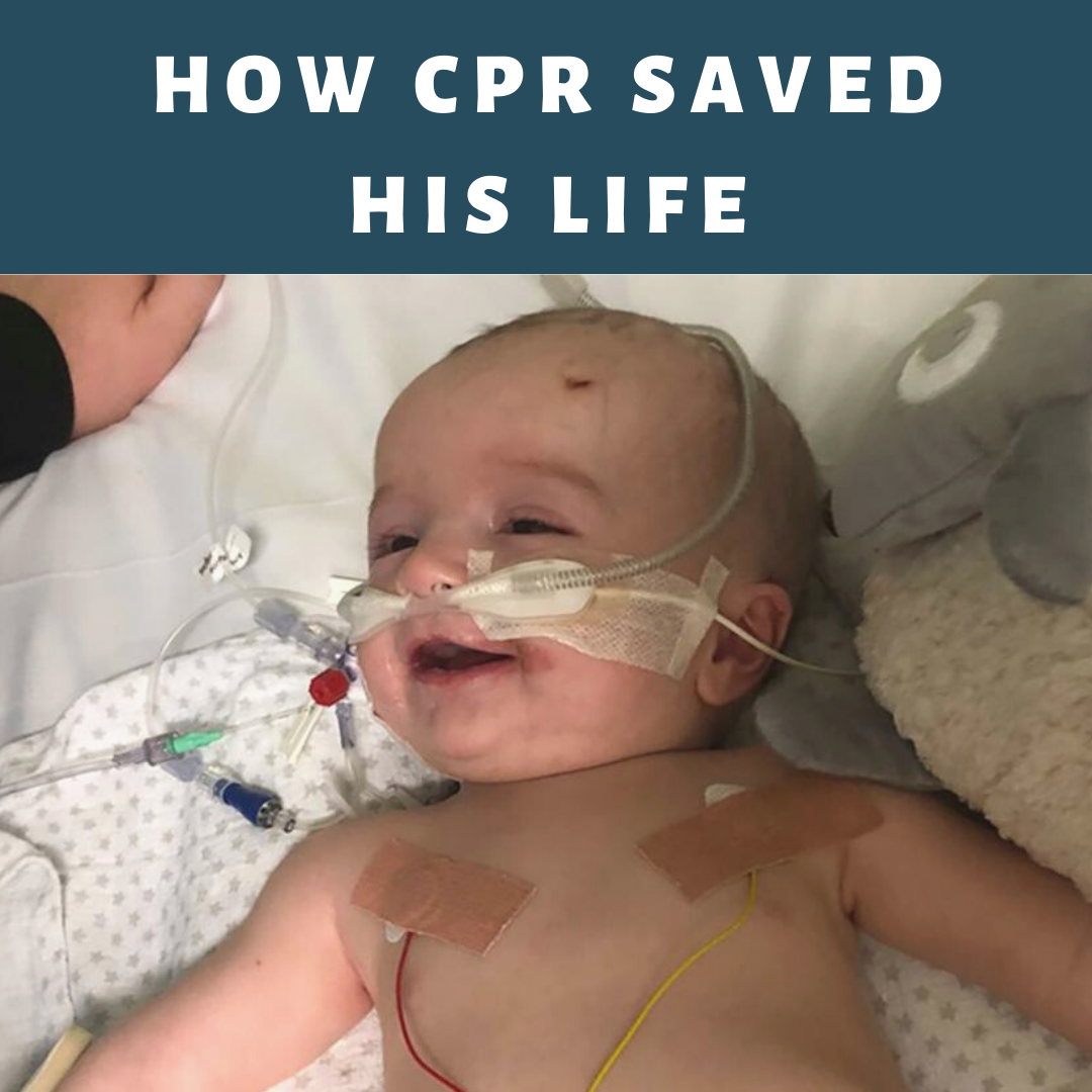 CPR AED Saved His Life